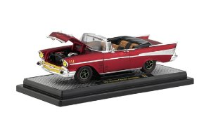 1957 CHEVROLET BEL AIR CONVERSÍVEL M2 MACHINES 68H-B 1/24