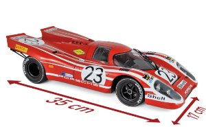 PORSCHE 917 K WINNER 24H FRANCE 1970 ATTWOOD/HERMANN 1/12