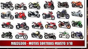 MOTOS SORTIDAS MAISTO 1/18