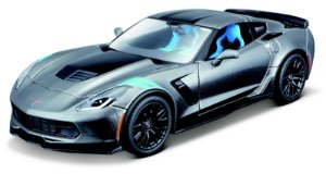 1:24 KIT EM METAL PARA MONTAR 2017 CORVETTE GRAND SPORT