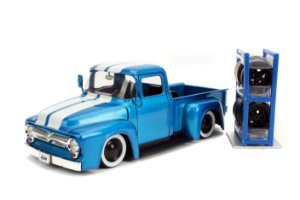 1956 FORD F-100 PICK UP JUST TRUCKS 1/24