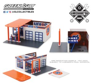 1:64 MECHANIC'S CORNER SERIE 6 POSTO DE GASOLINA UNION 76