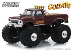 1:43 KINGS OF CRUNCH 2 GOLIATH 1979 FORD f-250 MONSTER TRUCK