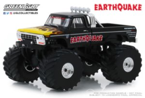 1:43 KINGS OF CRUNCH 2 EARTHQUAKE 1975 FORD F-250 MONSTER TRUCK