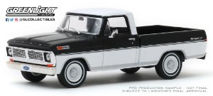 1:43 1970 FORD F-100 BALCK AND WHITE
