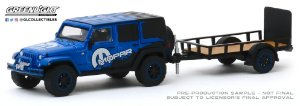 1:64 HITCH & TOW SERIE 19 2012 JEEP WRANGLER MOPAR OFF ROAD