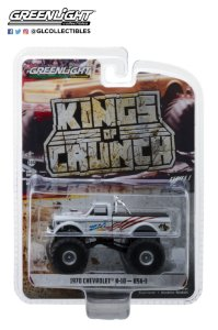 1:64 KINGS OF CRUNCH SERIE 1 1970 CHEVY K-10 MONSTER TRUCK
