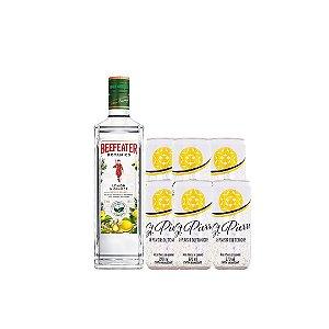 kit 01 Beefeater Botanics Lemon & Ginger750ml + 6 tônicas St.Pierre