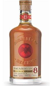 Rum Bacardi 8 anos 750ml