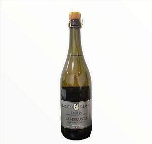 Vinho Lambrusco Franco Rossi Branco 750ml
