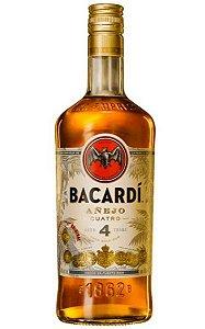 Rum Bacardi 4 anos 750ml
