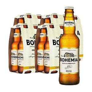 Cerveja Bohemia long neck cx 24un