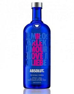 Vodka Absolut Drop Love Eoy 1L