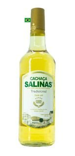 Cachaça Salinas Tradicional 1L