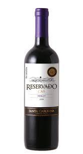 Vinho Santa Carolina Reservado Merlot 750 ml