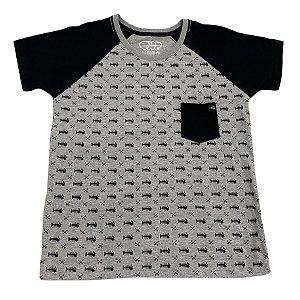 Camiseta Reaglan Mescla