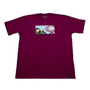Camiseta A Criação Vinho