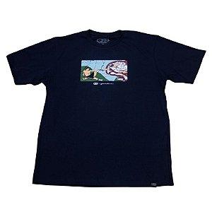 Camiseta A Criação Azul Marinho