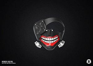 Colecionável Máscara Kaneki - Tokyo Ghoul
