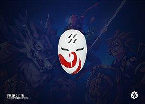 Colecionável Máscara Haku - Naruto