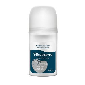 Desodorante Roll On Biocrema Sem Perfume 60ml