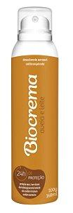 Desodorante Aerossol Biocrema Aveia e Leite 168ml