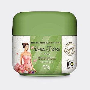 Desodorante Creme Alma de Flores Clássico 55g