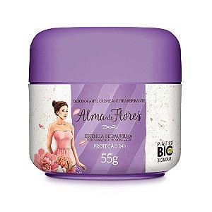 Desodorante Creme Alma de Flores Baunilha 55g