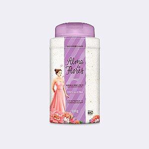 Talco Perfumado Alma de Flores Baunilha 100g