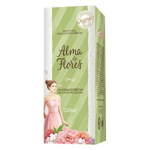 Deo Colônia Alma de Flores Clássico 120ml
