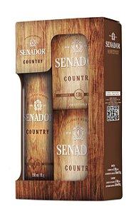 Estojo Senador Country com Aerossol e Sabonetes 351g