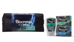 Necessaire Biocrema For Men com Face Wash