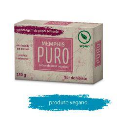 Sabonete Puro Vegetal Hibisco 150g
