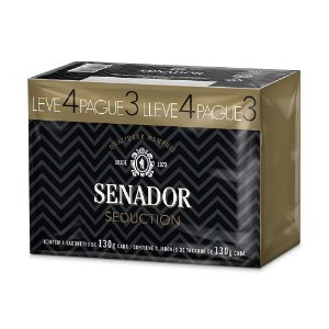 Sabonete Senador Seduction Leve 4 Pague 3