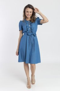 Vestido Feminino Isadora - Azul