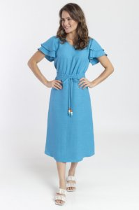 Conjunto Feminino Milena - Azul Turquesa