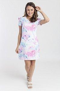 Vestido Feminino Tubinho com Bolso Gabi - Tie Dye