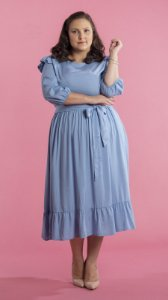 Vestido Feminino Rute Azul