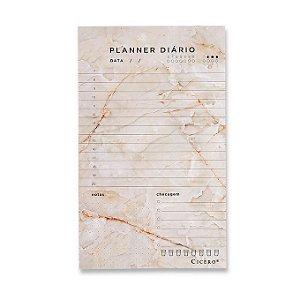 Bloco Planner Diário Minerais Cicero 12x20