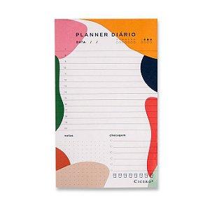 Bloco Planner Diário Esquema Cicero 12x20