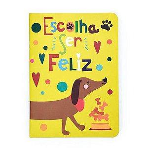 Caderneta Pontilhado Cachorro Me Encanta