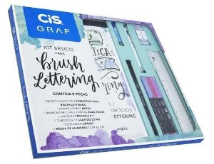 Kit básico para lettering Cis Graf 9pc