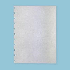 Refil Caderno Inteligente Pontilhado Linhas Brancas 90g 50 Folhas