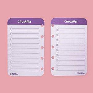 Check List Caderno Inteligente 120g 40 Folhas
