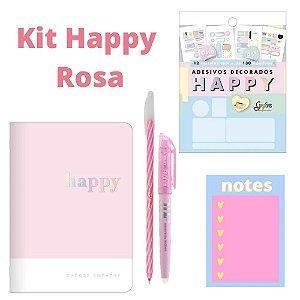 Kit Caderneta Happy 5 Peças