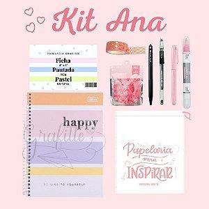 Kit All Pink Ana 9 peças