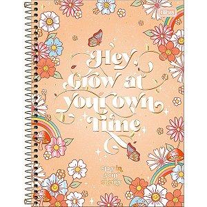 Caderno Universitário 1M Gypsy 80 Folhas Tilibra