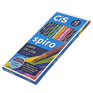 Lápis de Cor Cis Spiro 12 cores