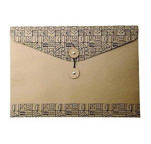Envelope de Papel Vai Vem Horizontal Dello Tamanho Ofício