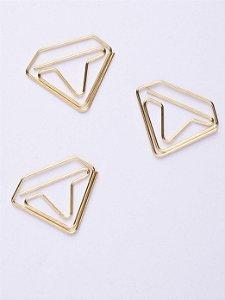 Clips Especial Diamante Molin Caixa com 12 unidades